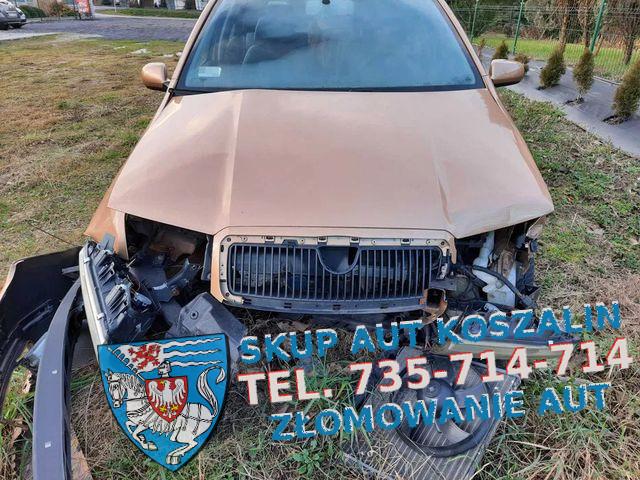 skup aut uszkodzonych białogard